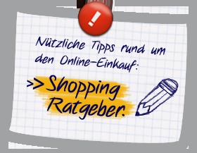 shopping ratgeber